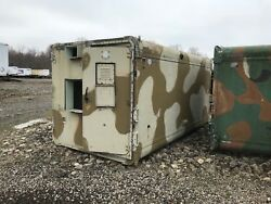 Military Communications Shelter Big. Aluminum. Used. For An M-series Truck