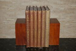 First 6 Volumes of The Floral World and Garden Guide 1858-63 London Groombridge