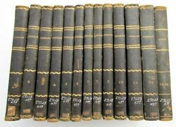 1843 Lot Of 13 Antique Books Church History In Italian