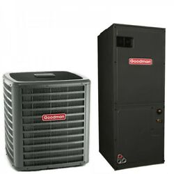 2.5 Ton Goodman 15 Seer R410a Variable Speed Heat Pump Split System