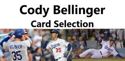 You Pick Your Cards - Cody Bellinger Los Angeles Dodgers Baseball Card Selection