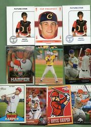 Bryce Harper Washington Nationals 31 card lot w Rookie cards amp; Inserts