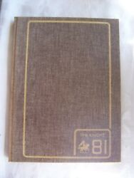 1981 North Andover High School Yearbook North Andover Massachusetts Unmarked