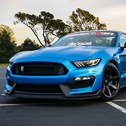 Project 6gr Seven R-spec 19x11 Satin Black Wheels For S550 Shelby Gt350r