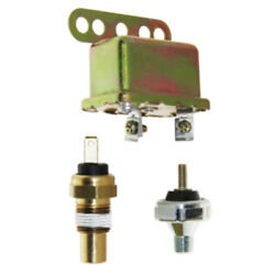 6 Psi Op Warning Horn Kit Oil Sw. 200 Degree Temp And Buzzer