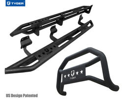 For 15-20 F150 Supercrew Cab Excl.raptor,eco Tyger Armor And Bumper Guard Combo