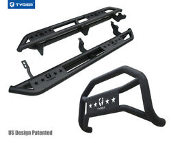 For 10-21 Toyota 4runner Trail Edition Tyger Armor And Bumper Guard Combo