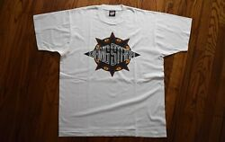 1991 Gang Starr Step In The Arena Promo T-shirt Vintage 90s Rap Hip Hop Tee L/xl