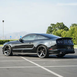 Project 6gr Five 20x10 Gloss Black Concave Wheels For S197 Mustang Gt V6