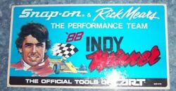 Decal / Rick Mears And Snap-on 1988 Indy Winners Automotive