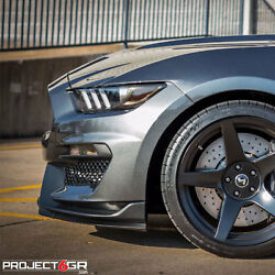 Project 6gr Five R-spec 19x11/11.5 Satin Black Wheels For S550 Shelby Gt350r