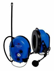 3M - MT7H7B4010-NA-50 - Electronic Ear Muff 25dB Blue  Price is for 1 Case