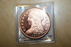 Daniel Carr 2011 Capped Liberty One Amero Copper Proof Finish