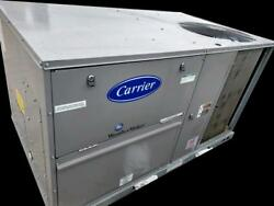 NEW CARRIER 50KC 4 TON PACKAGED ROOFTOP AC UNIT 47500 BTU W ELECTRIC HEAT