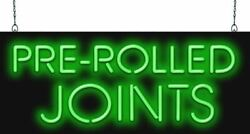 Pre-rolled Joints Neon Sign | Jantec | 2 Sizes | Smoke Shop Cannabis Medical Bar
