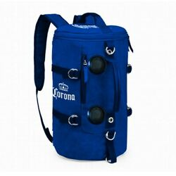 Corona Extra Soft Backpack Bluetooth Speakers Blue Cooler Blue