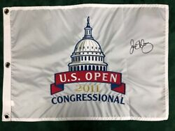 Rory Mcilroy Signed Us Open 2011 Congressional Golf Flag Autograph Aftal Coa