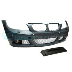 BMW 3 Series E90 LCI Sedan M-Sport Style Front Bumper-No Headlight Washer