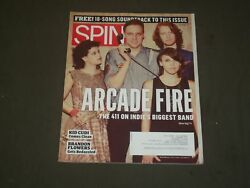 2010 October Spin Magazine - Arcade Fire Cover - Great Photos - B 2098