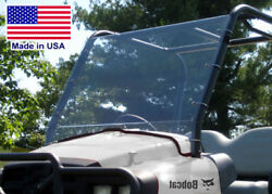 Bobcat 2200 / 2300 Hard Windshield - Polycarbonate - Highway Ready - Commercial