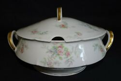 Theodore Haviland Limoges France Round Soup Tureen