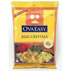 Nutriom OvaEasy 100% Real All Natural Powdered Whole Egg Crystals 12 Eggs