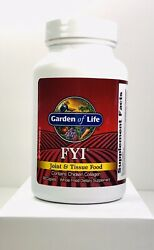 Garden Of Life Fyi Joint And Tissue Food 90 Caplets Chicken Collagen Exp 7/2022