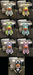 Frank Kozik Signed Toy2r 7 9 Bunee Qee Fiesta Full Set Autographed New In Box