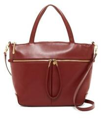 New with Tag - $288 Hobo International Perfect Union Tote Wine Leather Satchel