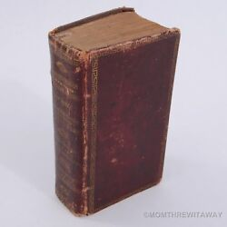 Rare 1799 Oxford Holy Bible Old And New Testaments Clarendon Plummer Moody Maine