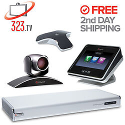 Polycom Realpresence Group 300 With Touch Panel - The Best Value On Ebay