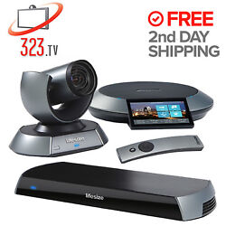 Lifesize Icon 600 Complete Video System 10x Camera 2nd Gen Phone 1000-0000-1180