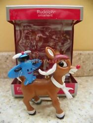 Carlton/american Greetings 2013 Rudolph The Red Nosed Reindeer Ornament Cc