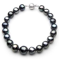 New Genuine Pacific Pearlsandreg Black Tahitian 9-11mm Pearl Bracelets Gifts For Wife