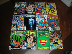 SUPERMAN 53 BOOK COLLECTION ALL ARE PICTURE NO DUPLICATION D.C. COMICS