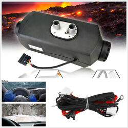 Car SUV Trailer 12V 5KW Universal Air Diesel Heater+LCD Control Time Switch Kit