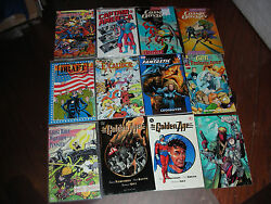SUPERHERO 36 COUNT GRAPHIC NOVEL/TBP LOT ALL ARE PICTURE & NO DUPLICATION NICE!