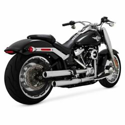 Vance And Hines Chrome Eliminator 300 Exhaust Pipes Headers Harley Softail 2018+