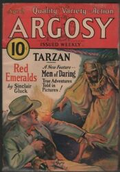 Argosy Weekly 1932 April 2 Tarzan And The City Of Gold Part Four Burroughs Erb
