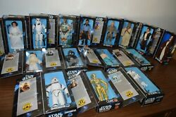 1997 STAR WARS COLLECTORS SERIES ACTION FIGURE COLLECTION! 15 TOTAL! MUST SEE!
