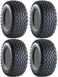 Four 4 Carlisle All Trail ATV Tires Set 2 Front 23x8-12 & 2 Rear 22x11-10 ITP