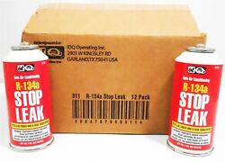 Auto AC Stop Leak Case12 3oz R134A Quest #311 Leak Finder & O-Ring Conditioner