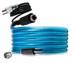 12 Ft Fresh Water Heated Hose For Camper Supply Line Rv Travel Trailer Winter