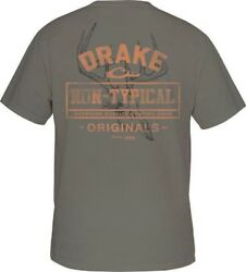 Drake Waterfowl Drake Non-Typical Skull SS T-Shirt CHOOSE SIZE AND COLOR