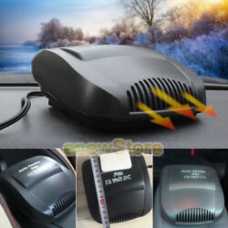 Car Auto 150W 12 Volt DC Heater Fan Hot Windscreen Defroster Demister Fan Heater