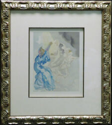 Salvador Dali The Divine Comedy Paradise Canto5 Woodblock Artwork Submit Offer