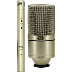 MXL 990993 Studio Package Condenser Microphone Instrument Microphone