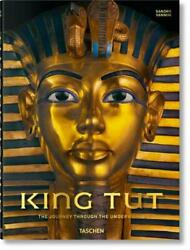 King Tut. The Journey Through The Underworld By Sandro Vannini English Hardcov