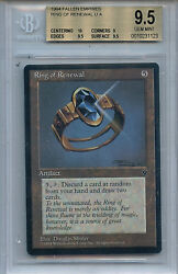 Mtg Ring Of Renewal Bgs 9.5 Gem Mint Mtg Fallen Empires Card Amricons 1123