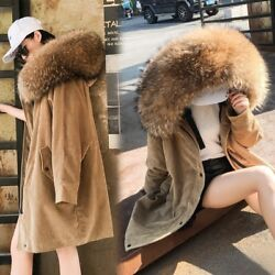 Military Parka Coat Hooded Fur Class Russian Sable Pink Parka Plus Size Thicken